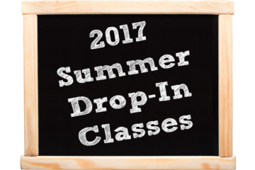 2017 Summer Drop-In Classes