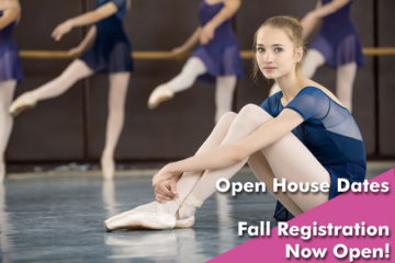 Fall Registration Open Now! Open Houses Scheduled