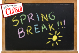 Closed Spring Break