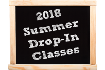 2018 Summer Drop-In Classes