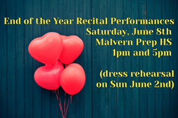 Recital Information