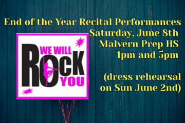 Recital Information & Tickets!